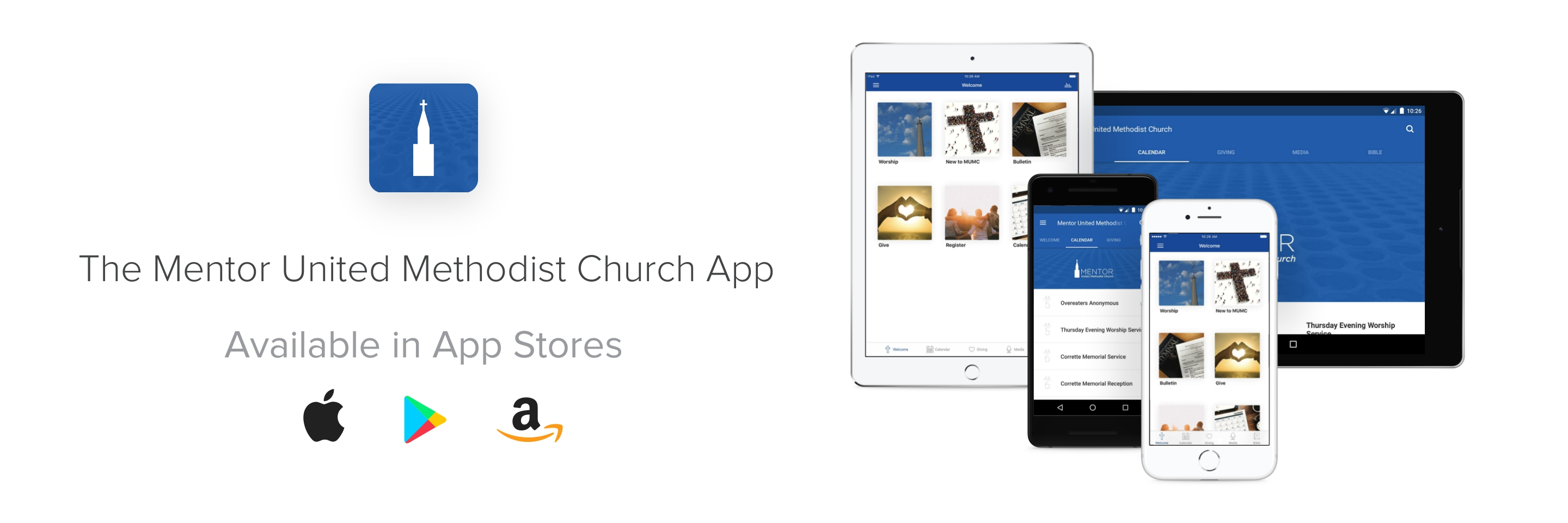 Click here to download our Church App