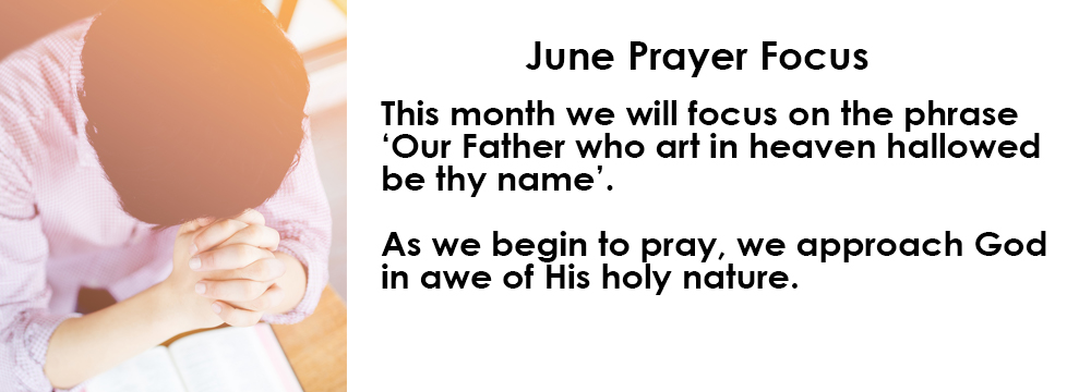 June Prayer Focus